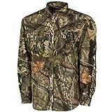 Mossy Oak MO Tibbee Technical Hunt Shirt, Break-Up Country, Medium