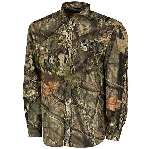 Mossy Oak MO Tibbee Technical Hunt Shirt, Break-Up Country, 2X-Large
