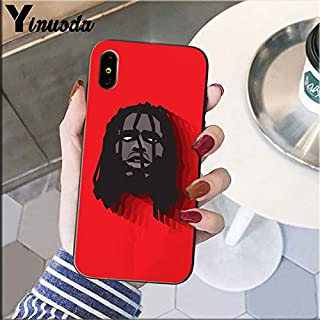 Inspired by Chief Keef Phone Case Compatible With Iphone 7 XR 6s Plus 6 X 8 9 11 Cases Pro XS Max Clear Iphones Cases TPU- Sweatshirt- Keychain- Case- Logo- Logo- 33013442170