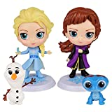 The cute cake toppers Cute Premium Frozen Party Figurines will be perfect decorations for the Frozen party supplies birthday These fun figures Size are from 1.1 to 3.35 inches talland of the movie characters These fun figures Size are from 1.1 to 3.3...