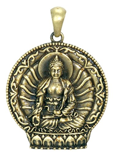 YTC Summit Medicine Buddha Pendant - Collectible Medallion Necklace Accessory