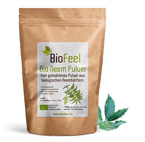 BioFeel - Neem Pulver - 100g (Niem) - BIO