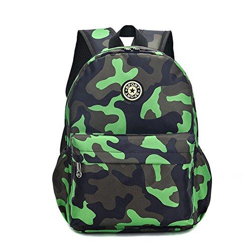 Estwell Kids Boys Girls Camouflage School Backpack Children Primary Schoolbag Book Bag Waterproof Nylon Rucksack Casual Daypack