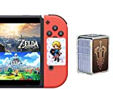 [Newest 24 pcs ] The Legend of Zelda NFC Cards, Link's Awakening Compatible Hyrule Warriors: Age of Calamity - Breath of The Wild -Ocarina of Time Game Items Cards.