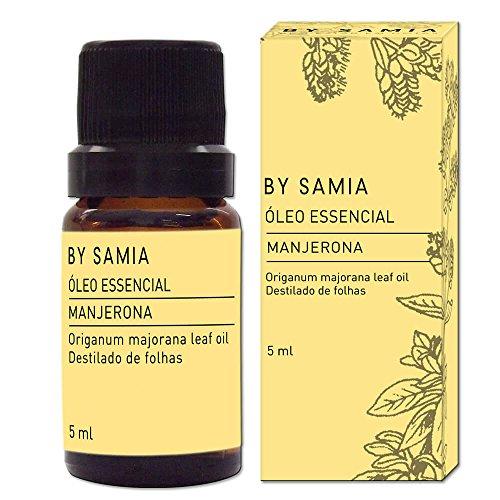 Óleo Essencial de Manjerona 5 ml, By Samia, Multicor