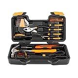 Juego de herramientas de 39 piezas naranja