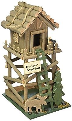 Ranger Station Hanging Birdhouse
