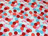 Minerva Crafts Layered Spots Print Seidiger Satin Kleid