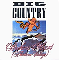 "Broken Heart (Thirteen Valleys) - Big Country 7"" 45"