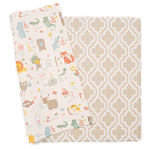 Best Deals! Baby Care Play Mat - Haute Collection (Medium, Moroccan - Beige) - Play Mat for Infants ...