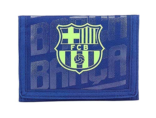 FC Barcelona 811826036 2018 Tarjetero, 12 cm, Azul