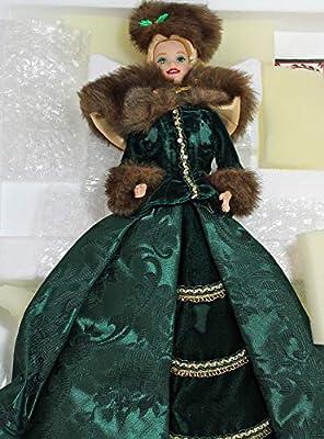 Barbie - Holiday Caroler Doll - Holiday Porcelain Barbie Collection - 1996 Mattel