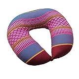 yxyxa Cuscino per Collo Kapok Cuscino A Forma di U Cuscino per Collo Cuscino Cervicale Cuscino per Auto Cuscino per Viaggio Cuscino per Ufficio Cuscino per Pisolino