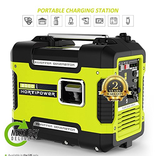 2000i Portable Inverter Generator 2000W Petrol Generator 2KW Super Silent
