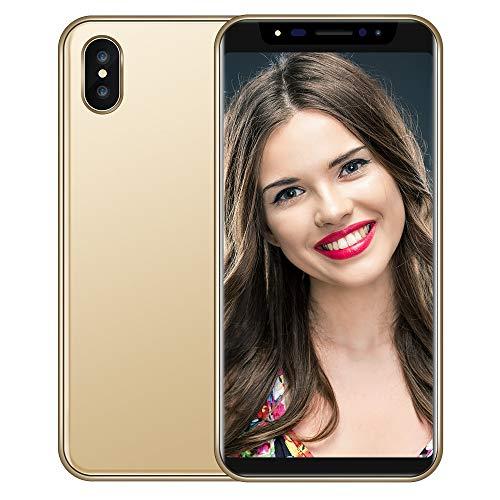 Yncc Nouveau Mode 5.8 Pouces Double HD Camera Smartphone Android IPS écran Complet écran GSM/Wcdma 4Gb écran Tactile WiFi Bluetooth GPS 3G Appel TéléPhone Mobile (Gold)