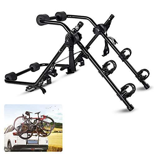 DOLA Portabicicletas Trasero Plegable para 2 Bicis Bicicletas Universal Porta Bicicletas para Coches Carga 200kg