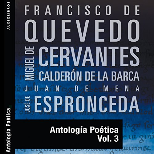 Antología Poética III [Poetic Anthology III] audiobook cover art