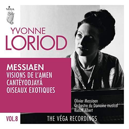 Yvonne Loriod, Olivier Messiaen, Orchestre Du Domaine Musical & Rudolf Albert