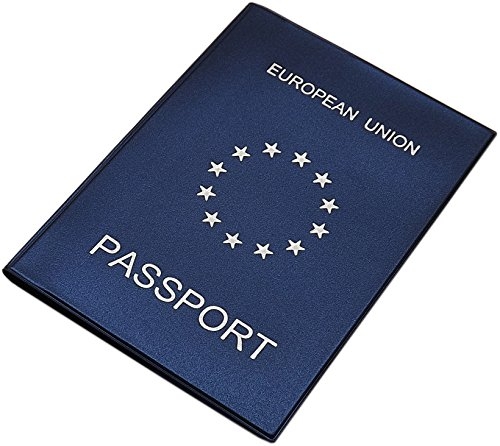 Reisepass Schutzhülle Made in EU in 3 Farben (Blau)