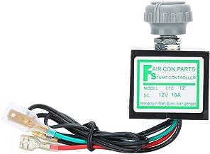 Dibiao 10A 12V Universele Auto Airconditioner Elektronische Thermostaatschakelaar Temperatuurregeling Duurzaam Automatisch...