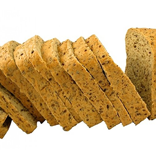 Low Carb Multi Grain Bread (8 Slice Pack) - Fresh Baked - LC Foods - All Natural - No Sugar - High Protein - Diabetic Friendly - Keto Bread- Low Carb Bread