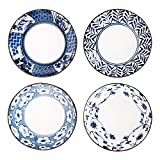 [APPEARANCE] 4 Piece Japanese Style Dinnerware Set [Usage]This set of sauce dish is good for serving soy sauce, dipping sauce, veggies, fruits, or snacks. [Dimension]approximately 3.50 inches (Dia) x 0.75 inches (H).Please check the detail size befor...
