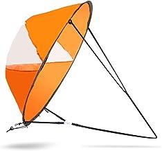 Majome Kayak Bateau Wind Sail cano/ë SUP Paddle Planche /à voile avec fen/être transparente P/êche Bateau gonflable hors-bord Drifting