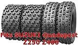 4 Wanda Sport ATV tires 22x7-10 & 20x10-9 SUZUKI Quadsport Z250 Z400 GNCC Race