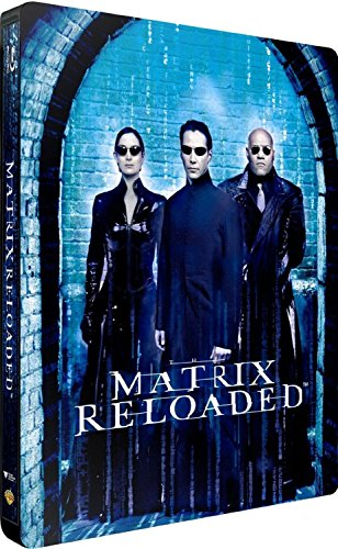 Matrix Reloaded Steelbook, Blu-ray, EU-Import mit deutschem Ton, Uncut, Regionfree, Geprägtes Steelbook mit Innendruck
