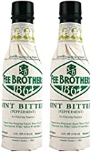 Fee Brothers Mint Cocktail Bitters - 5 Ounce Bottles - 2 Pack