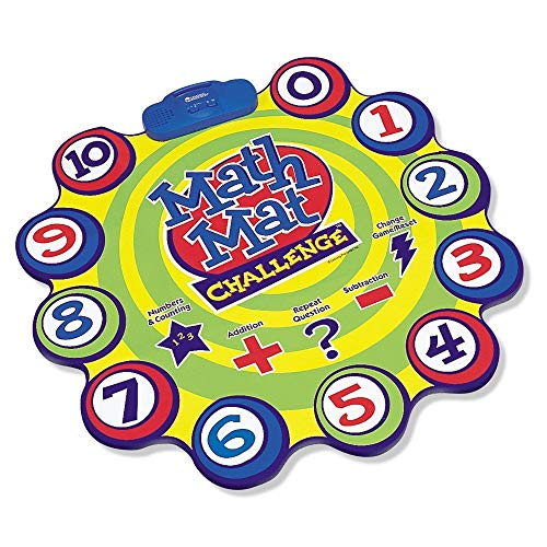 Learning Resources Math Mat Challenge Game,Multi-color,32 Dia in