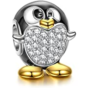 NINAQUEEN Penguin 925 Sterling Silver Charms for women fit pandora charms bracelet