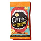 Cheesies Crunchy Popped Cheese Snack, Cheddar. No Carb, High Protein, Gluten Free, Vegetarian, Keto. Cheddar...