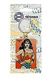 ZZT DC Comics - Porte-clés métal Wonder Woman 6 cm