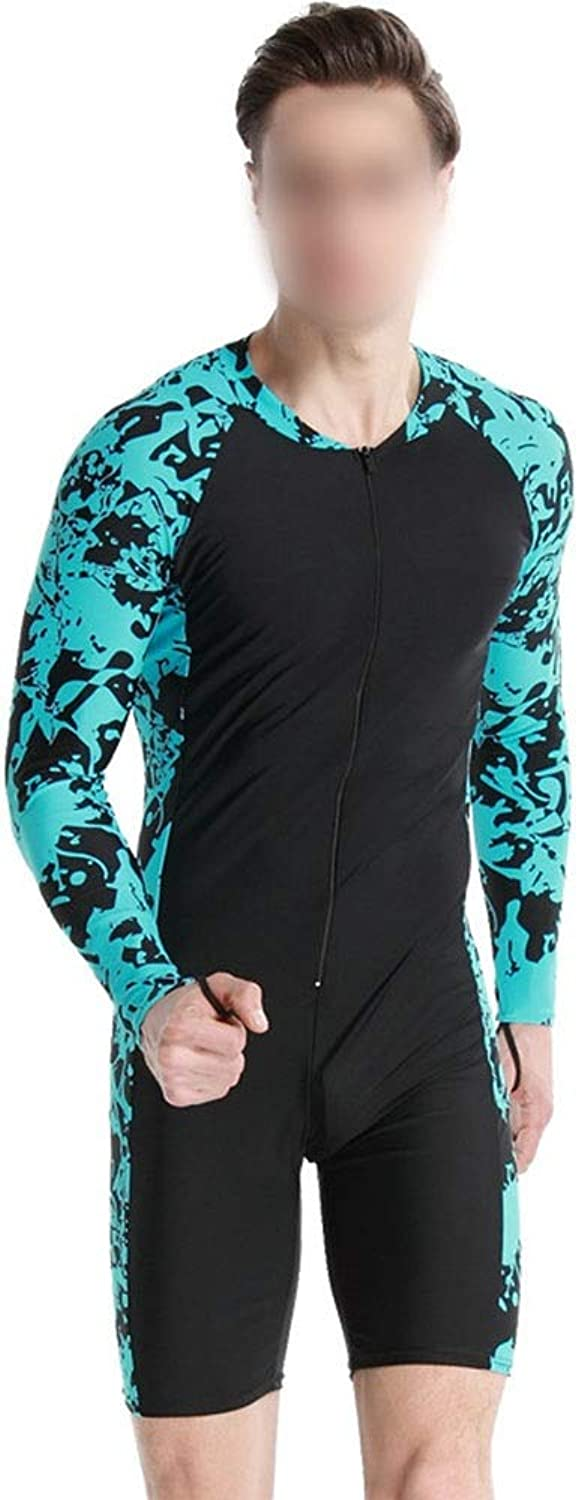 Saalising LongSleeved Wetsuit OnePiece Sun Predection Suit Female Swimsuit