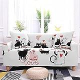 Funda Sofa 3 Plazas Fundas de Sofas Chaise Longue Animal de...