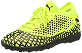 PUMA Future 4.4 TT Jr, Chaussures de Football Mixte Enfant, (Yellow Alert Black 03), 37 EU