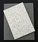 Rectangular Reclaimed Solid Surface (I.e. Corian) Cutting Board and Serving Board