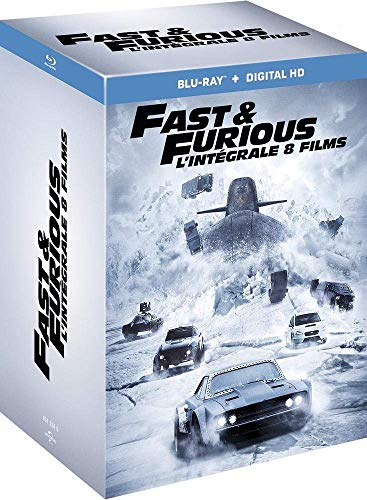 Fast and Furious l'intégrale 8 films en Blu-ray