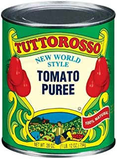-Tuttorosso All Natural Tomato Puree 28 oz (Pack of 12)