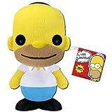Funko - Peluche Simpsons Homer 18 cm - 0830395024516
