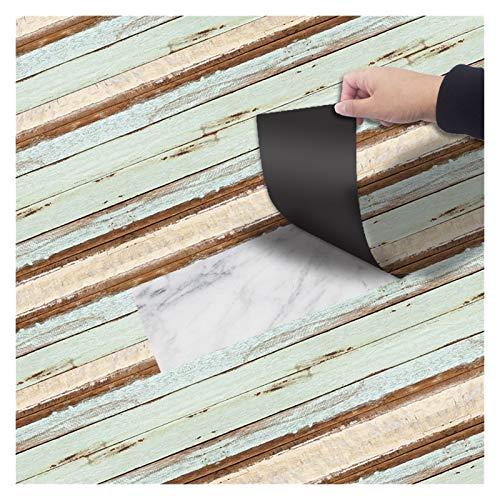 NXCY01 Papel Pintado, DIY Etiqueta engomada autoadhesiva Impermeable Etiqueta engomada de los Pisos Renovación de Muebles 20 cm x 300 cm (Color : 7)
