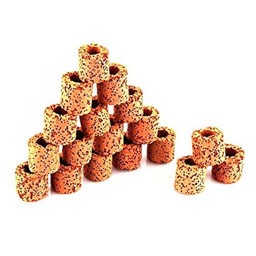 Luwu-Store 250g matériaux de filtrage biologiques Porous Anti Corrosion pour Aquarium