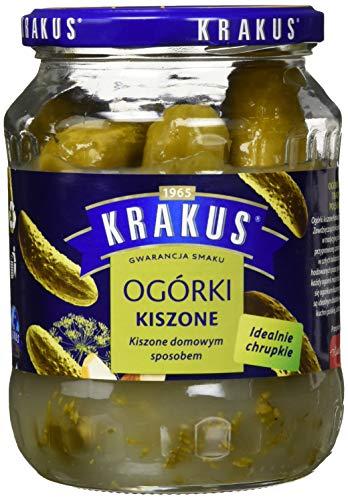 Krakus cucumbers in brine Gurken im Aufguss, 6er Pack (6 x 630 g)