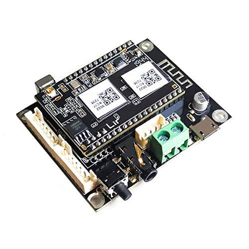 WiFi-Audio-Receiver Board, drahtloses Multiroom-HiFi-Musik-Receiver-Schaltmodul mit Airplay, Spotify Connect, SPIDIF-Ausgang und Fernbedienung für Heimwerker-Lautsprecher - Up2stream Mini V3