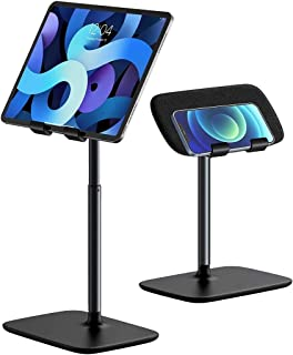 Fegishilly Tablet Stand Holder,Baseus Angle Height Adjustable Tablet & Phone Stand for Bed/Desk,Compatible with (5.5-21....