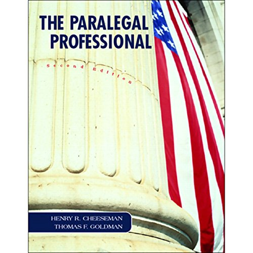VangoNotes for The Paralegal Professional, 2/e audiobook cover art