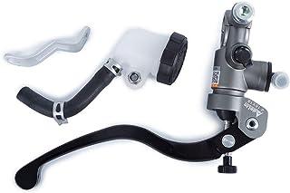 Color : Black A NO LOGO ZWQ-Brake 22 mm CNC 19 RCS Motocicleta Cilindro Maestro del Freno Cable del Embrague Bomba de Freno Radial Universal for Honda Yamaha Suzuki Kawasaki