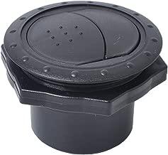 130 /× 10 5 mm H HILABEE 12V RV Dachhaube Dachluke Dachl/üfter Dachventilator Pilzl/üfter Rundl/üfter Dachgebl/äse f/ür Boot Wohnmobil