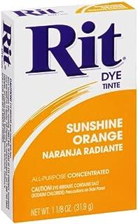 Rit All-Purpose Powder Dye, Sunshine Orange